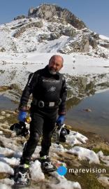 Lago de Ercina. Lagos de Covadonga. Asturias. España